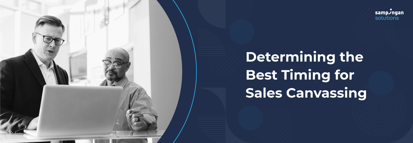 Determining the Best Timing for Sales Canvassing